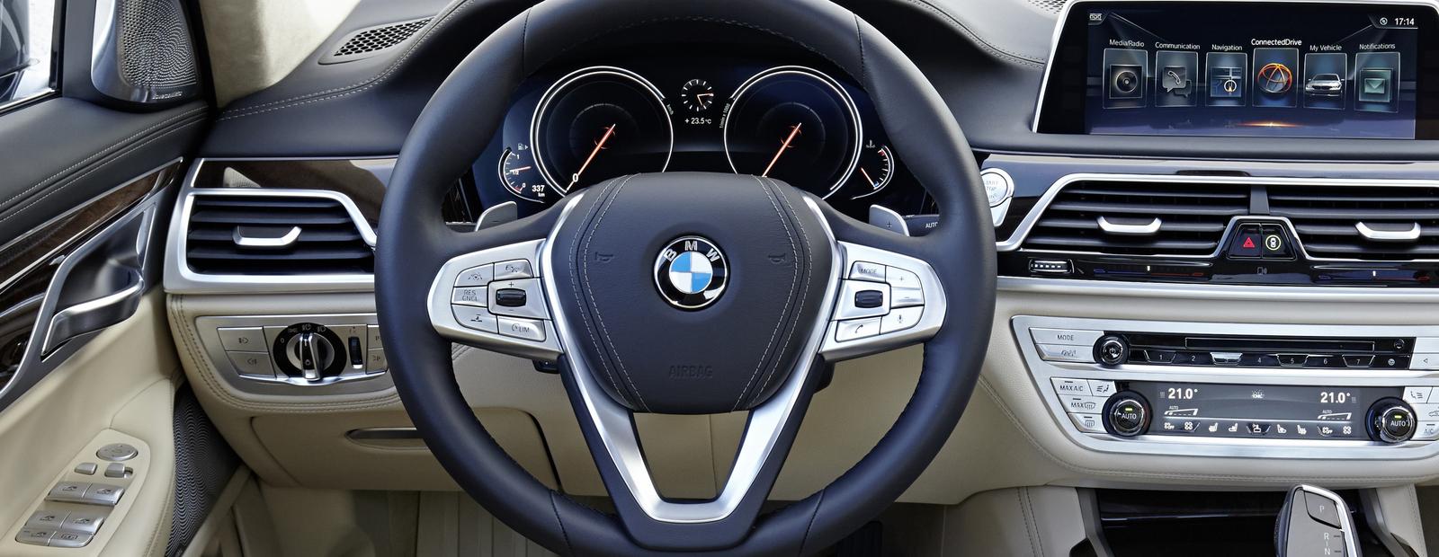 Посчитали-прослезились: спортивный руль для BMW 7 серии