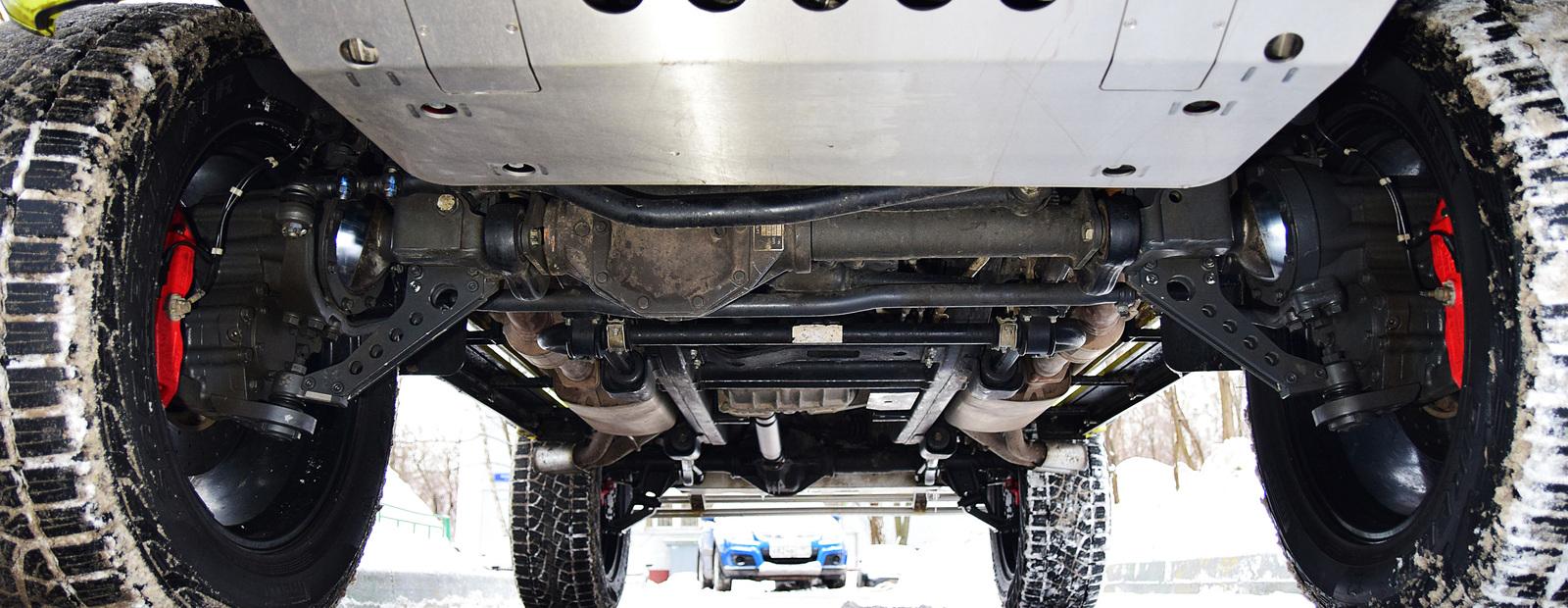 Посчитали-прослезились: мосты с портальными редукторами для Mercedes G 500 4?4?