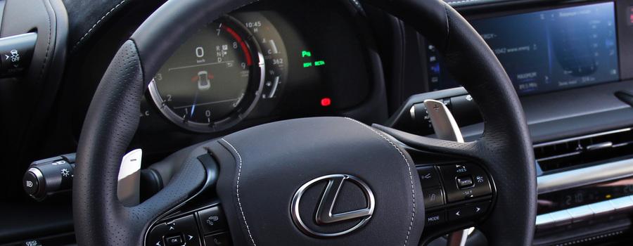 Шок-цена: приборка Lexus LC500
