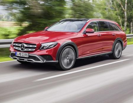 Приподнятый универсал Mercedes