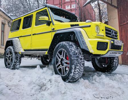 Шок-цена: кузовщина G 500 4x4²