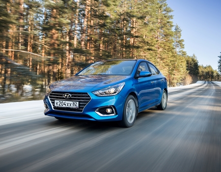 Тест нового Hyundai Solaris