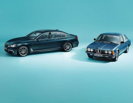 BMW сделал юбилейную семерку