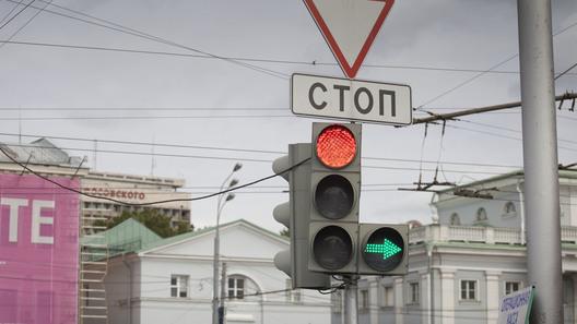 В столице начали тестировать светофор с«вызывной» фазой