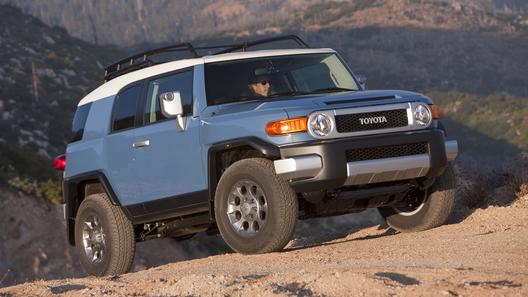 Один из самых экстравагантных автомобилей - Toyota FJ Cruiser покидает рынок в августе 2016 года
