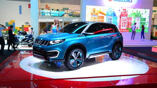 Новая Suzuki Vitara появится в России во второй половине 2015 года