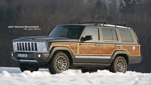 У Jeep все же появится огромный внедорожник