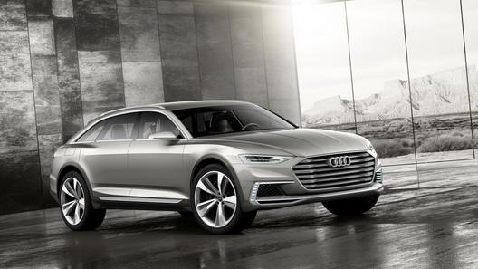 Audi выпустила концептуальный сверхмощный кроссовер