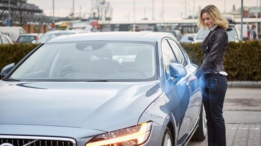 Volvo отказывается от привычных ключей