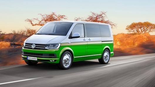Тюнеры пристроили микроавтобусу VW электрический полный привод