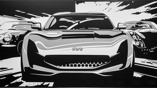 Компания TVR показала дизайн нового спорткара