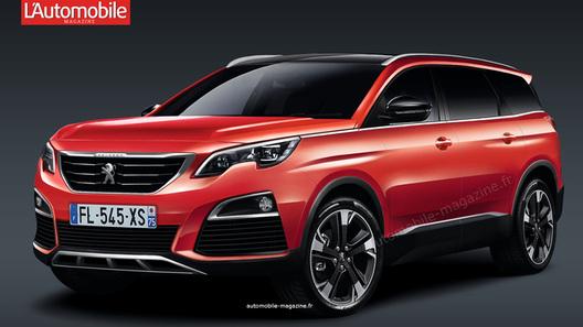 Peugeot (Пежо) сделает изминивэна 5008 кроссовер