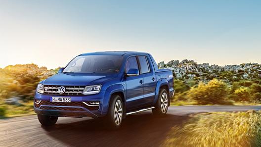 Volkswagen показал, как на самом деле выглядит интерьер нового Amarok