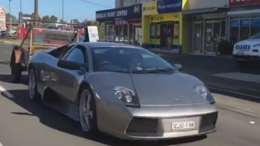 Суперкар Lamborghini Murcielago превратили в скотовоз. ВИДЕО