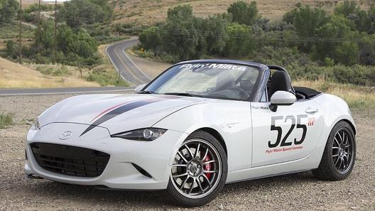 В США построили чуть ли не самую мощную Mazda MX-5 нынешнего поколения