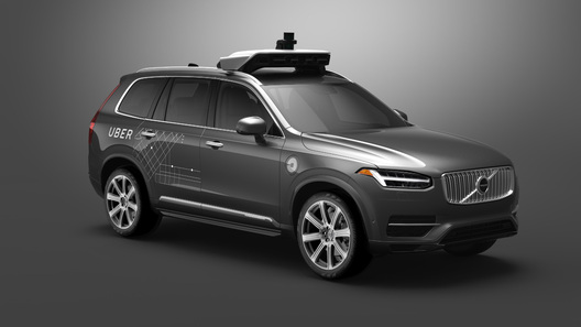 Uber иVolvo вложат в $300 млн вразработку беспилотного автомобиля