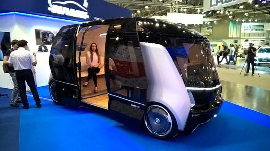 В РФ начали разработку беспилотных такси иавтобуса