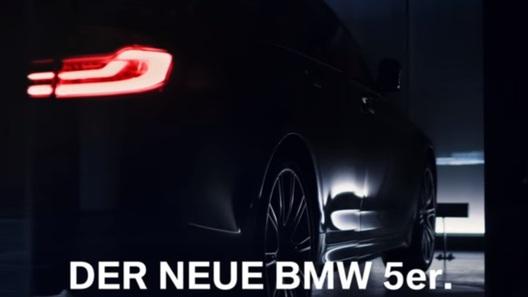 БМВ 5 Series обновленного поколения показали наофициальном видео