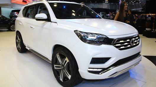 Сан Йонг придумал революционную технологию открывания окон вавтомобиле