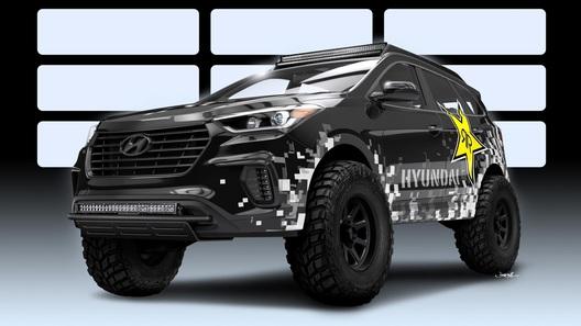 Hyundai Santa Fe зарядили закисью азота