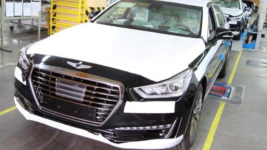 ВКалининграде начата сборка флагманского автомобиля марки Genesis