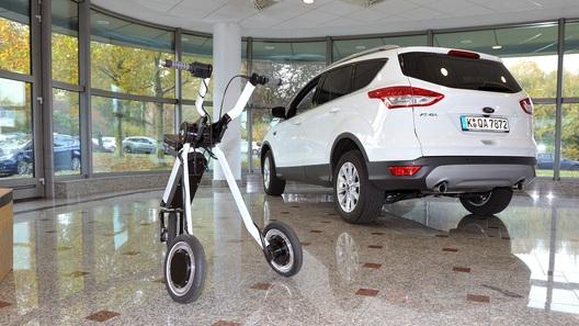 Форд разработал платформу для транспортировки груза илюдей
