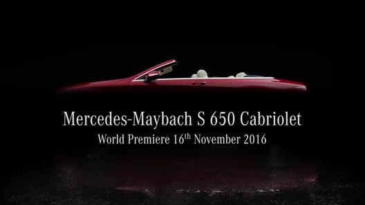 Mercedes покажет вЛос-Анджелесе роскошный кабриолет