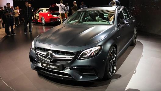 Mercedes презентовал супермощный и высокоскоростной седан E-Class