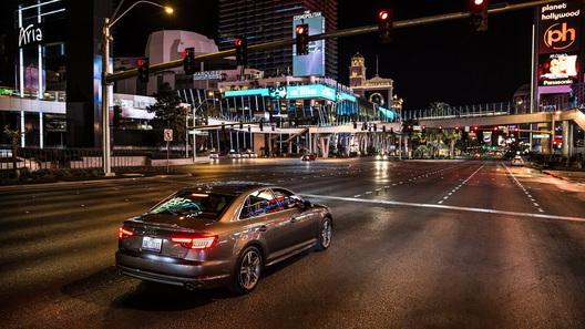 Новая Ауди заменит водителям светофор