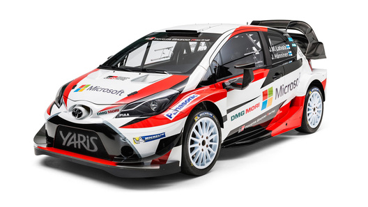 Тоёта Gazoo Racing WRC представила собственных пилотов иавтомобиль