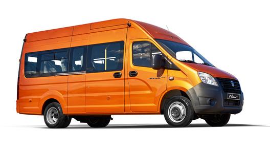 В РФ стартовали продажи нового микроавтобуса ГАЗель Next
