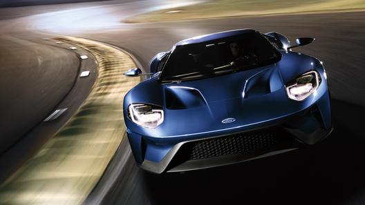 «Форд» огласил мощность мотора новогоGT