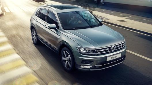 VW начал продажи улучшенного Tiguan в Российской Федерации