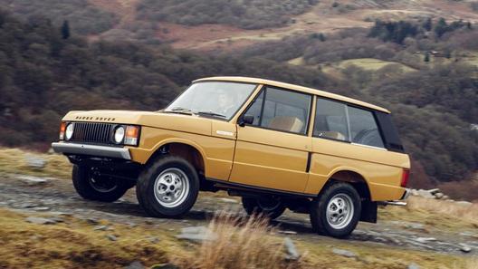 Заново рождённый: мировая премьера восстановленного Range Rover Classic