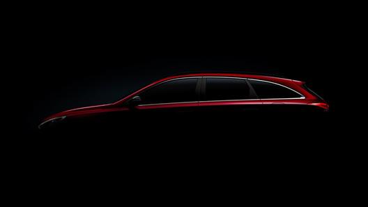 Размещены фотографии нового универсала Хендай i30 Wagon
