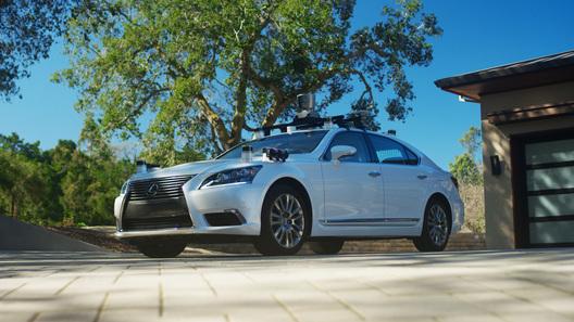 Тойота представила новый беспилотный автомобиль набазе Лексус LS
