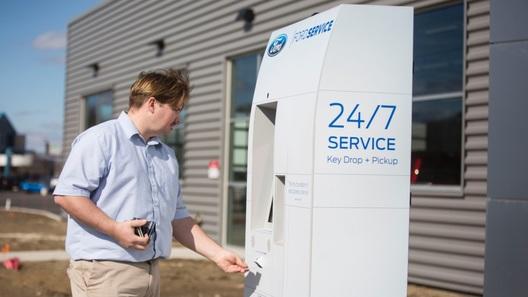 Ford испытывает терминалы автоматической записи на ТО