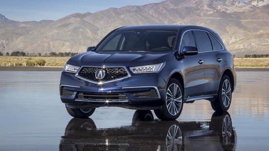 Acura снабдила кроссовер MDX моторами от культового суперкара