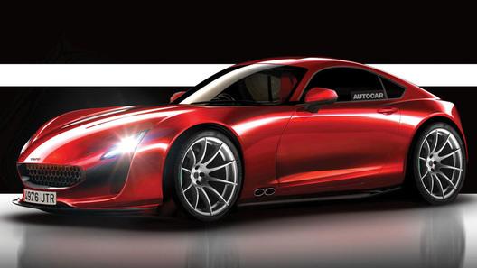 Новый спортивный автомобиль TVR показали назакрытой презентации