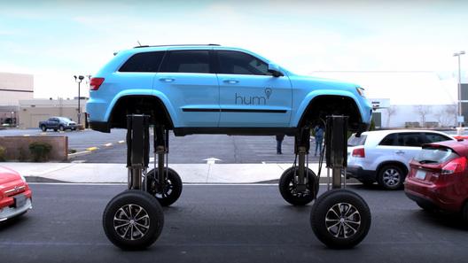 Машину-траснформер, способную перемещаться над автомобилями впробках, испытали вСША