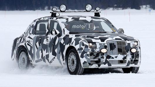 Автомобили изпроекта «Кортеж» впервый раз сфотографировали вживую