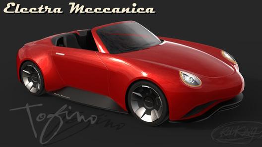 ВКанаде представили концептуальный автомобиль электро-родстера