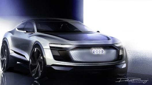 Ауди  готовит премьеру концепта кроссовера E-Tron Sportback вШанхае