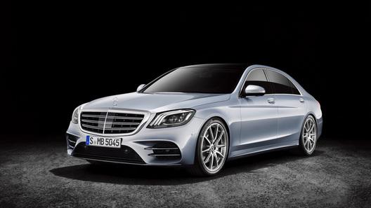 Benz обновил седан S-Class
