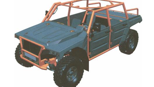 Бывшие инженеры ГАЗа создали новый полноприводный джип набазе «Соболя»