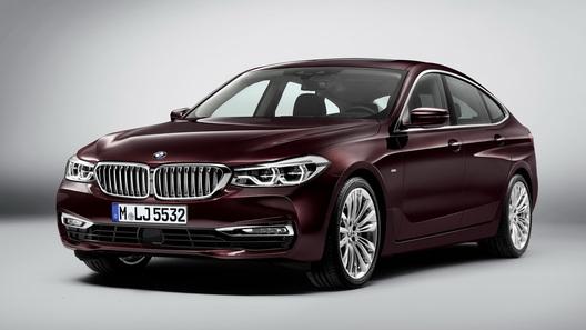 Внешность нового BMW 6 Series GT раскрыли до премьеры
