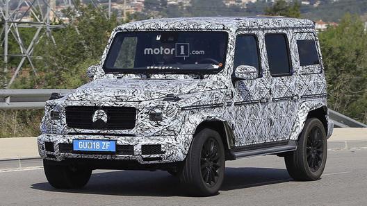 Benz G-класса получит переднюю независимую подвеску