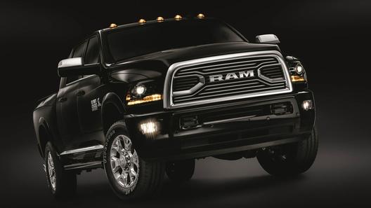 Компания Ram представила ультрароскошный пикап 1500 Limited Tungsten Edition