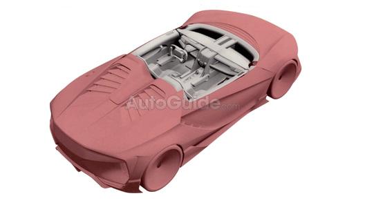 Размещены патентные изображения компактного спорткара Хонда NSX