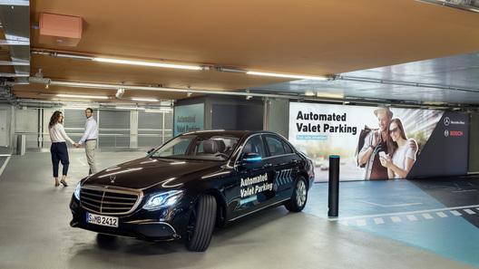 Bosch и Mercedes-Benz разработают «умные» парковки для авто